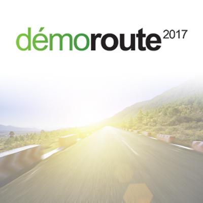 DEMOROUTE – 14 au 16 Juin 2017