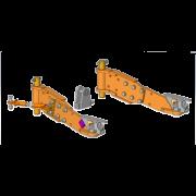Interface côté machine SMA (bâti axes verticaux châssis réglable)