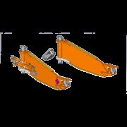 Interface côté machine SMA (bâti axes verticaux châssis)