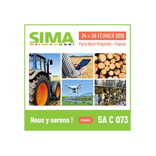 SIMA du 24 au 18 février 2019, Paris Nord Villepinte